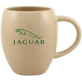 Advertising Barrel Ceramic Mug