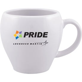 Bella Ceramic Mug Imprinted with Your Logo