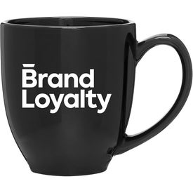 Glossy Bistro Mug (15 Oz., Dark Colors)
