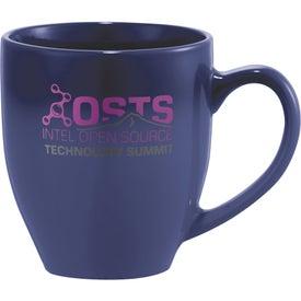Bistro Ceramic Mug Imprinted with Your Logo