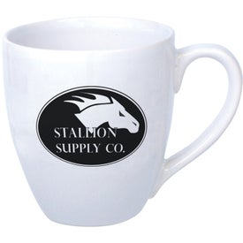 """Bistro Mug (14 Oz., 4.25"""", White)"""
