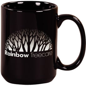 Black Pinehurst Ceramic Mug (15 Oz.)