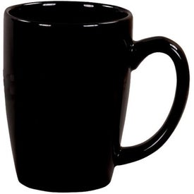 Advertising Black Riviera Ceramic Mug