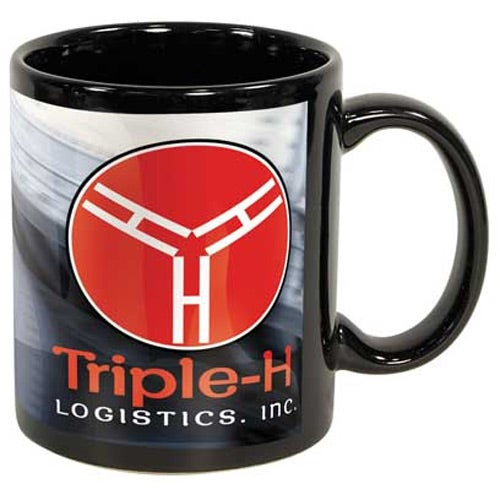 Black Sublimation Mug