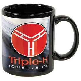 Black Sublimation Mug (11 Oz.)