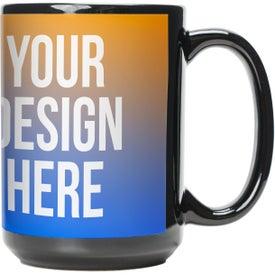 Black Sublimation Mug