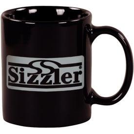 Customized Black Windstone Ceramic Mug
