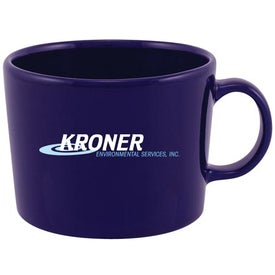 Brizia Ceramic Mug Printed with Your Logo