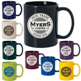 Budget Coffee Mugs (11 Oz., Colors)