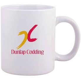 C-Handle Ceramic Mug for Promotion