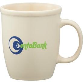 Branded Cafe Au Lait Ceramic Mug