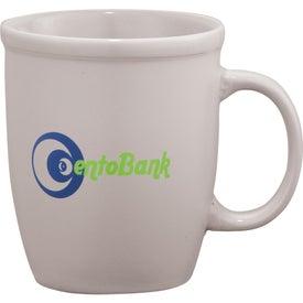Cafe Au Lait Ceramic Mug with Your Slogan