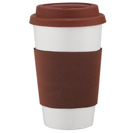 Cafe Ceramic Tumbler for Promotion