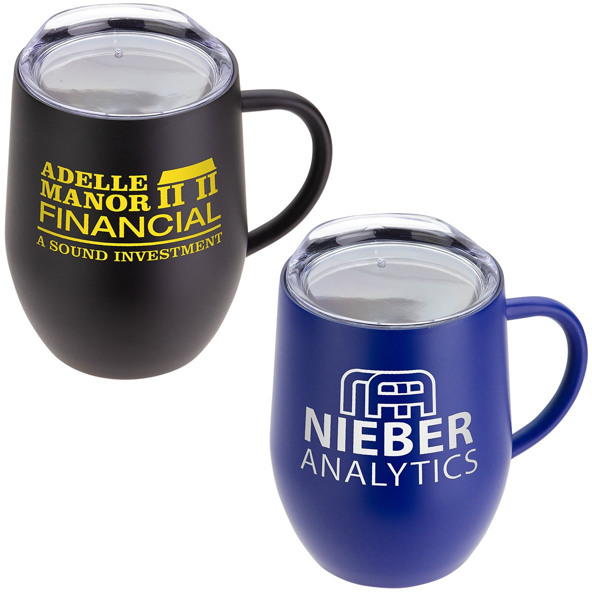Calibre Vacuum Insulated Ceramic Inside-Coated Coffee Mug (12 Oz.)