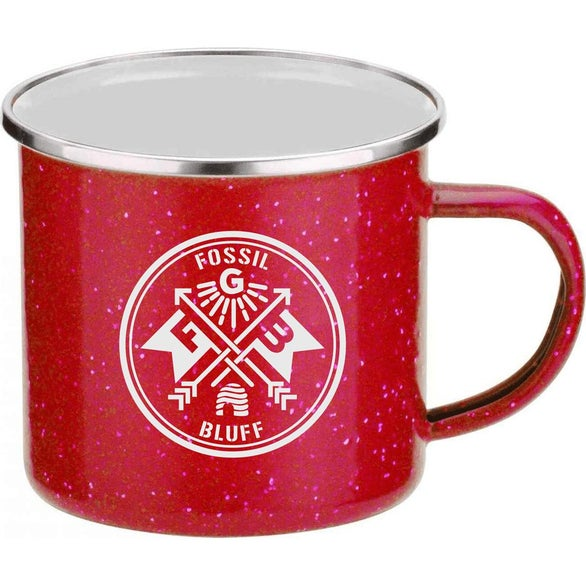 Red / White Camper Mug