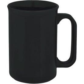 Monogrammed Canterbury Mug