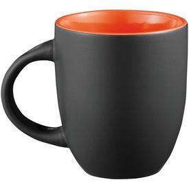 Customized Canyon Ceramic Mug with Spoon