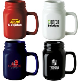 Capacity Ceramic Mug (16 Oz.)