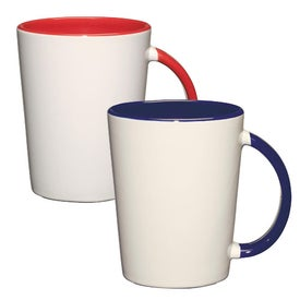 Capri Mug (14 Oz., Red or Cobalt)