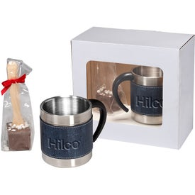 Casablanca Coffee Cups and Hot Cocoa Gift Set