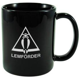 Logo Ceramic Cafe Mug