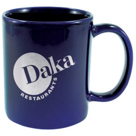 Ceramic Cafe Mug Imprinted with Your Logo