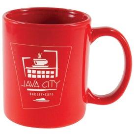 Ceramic Cafe Mug for Advertising