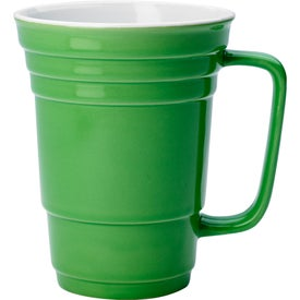 Ceramic Cup Imprinted with Your Logo