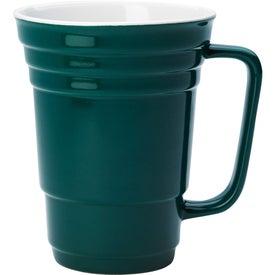 Monogrammed Ceramic Cup
