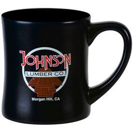 Advertising Ceramic Diner Mug
