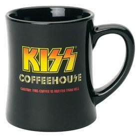 Customized Ceramic Diner Mug