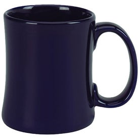 "Ceramic Diner ""C"" Handle Mug (15 Oz.)"