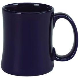 "Ceramic Diner ""C"" Handle Mug Imprinted with Your Logo"