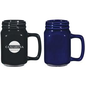 Ceramic Mason Jars (14 Oz., Colors)