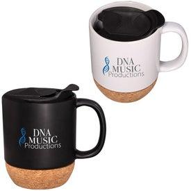 Ceramic Mug with Cork Base