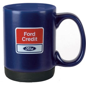 Branded Ceramic Removable Soft Bottom Mug