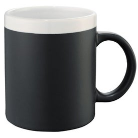 Chalk It Up Ceramic Mug Branded with Your Logo