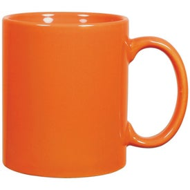 Promotional C-Handle Ceramic Mug