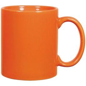 Promotional C-Handle Ceramic Mug