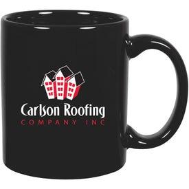 C-Handle Ceramic Mug Giveaways