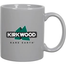 Printed C-Handle Ceramic Mug