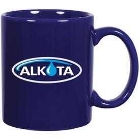 Customized C-Handle Ceramic Mug