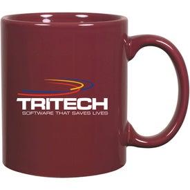 Logo C-Handle Ceramic Mug