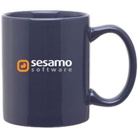 C-Handle Ceramic Mug for Advertising