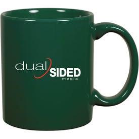 C-Handle Ceramic Mug (11 Oz.)