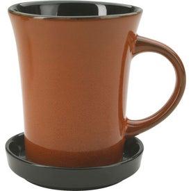 2 Piece Coaster Mug for Your Company