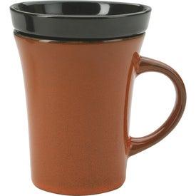 Branded 2 Piece Coaster Mug
