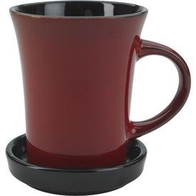 2 Piece Coaster Mug for Marketing