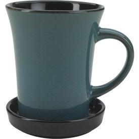 Advertising 2 Piece Coaster Mug