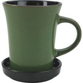 Custom 2 Piece Coaster Mug